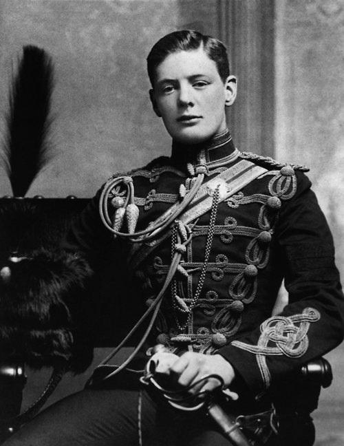 Winston Churchill 1895